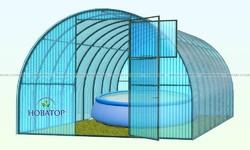 Навес для бассейна «Новатор 3 метра»