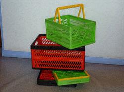 Ящики пластмассовые складные
