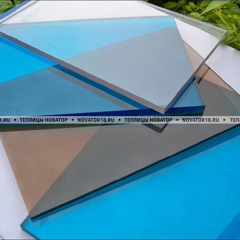 Монолитный поликарбонат цветной от 1.5 до 8 мм
