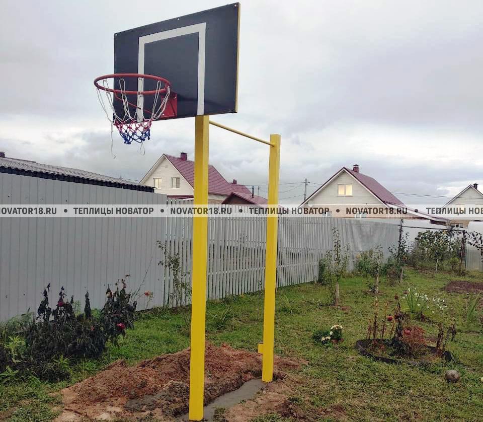Турник уличный с баскетбольным щитом