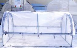 "Тент для парника ""Бабочка"" 2 метра из армированной пленки 200МкН (140гр/м2)"