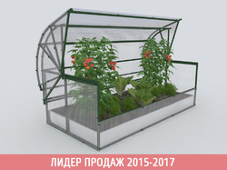 Парник «Новатор-Макси» с поликарбонатом «Премиум»