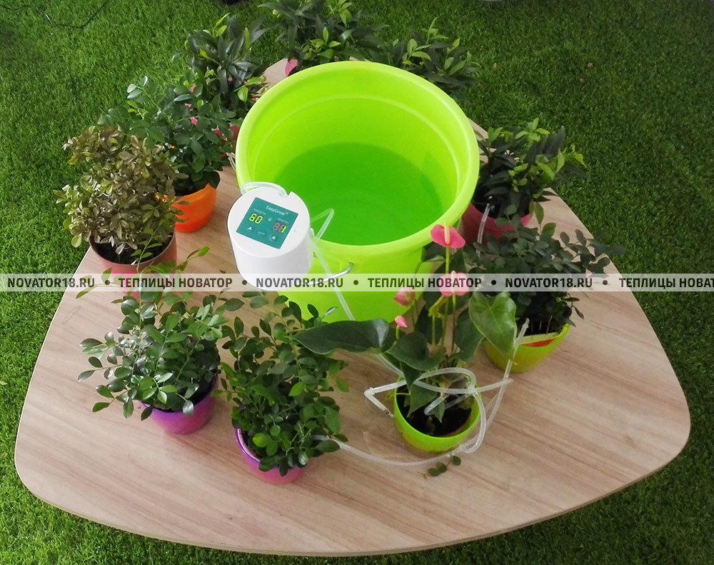 Автоматическая система полива для комнатных растений до10 горшков