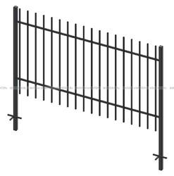 Металлический забор решетчатый, высота 1,8м